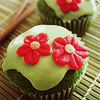 myaru: (Food - green cupcakes)