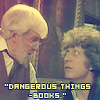 romana03: The 4th Doctor thinks books are dangerous. (Default)