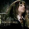 snitchbitch: (hp - hermione - knowitall)