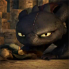 recessional: Toothless from How To Train Your Dragon, looking annoyed (dragon; toothless is gonna eat your face)