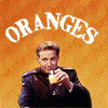 "nenya_kanadka: John Sheridan drinks orange juice, captioned ""ORANGES"" (B5 Sheridan/oranges OTP)"
