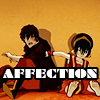 spatz: Toph friend-punching Zuko (Avatar Zuko-Toph affection)