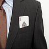 darchildre: a suit with the ace of spades in the pocket (aces)