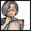 kate_nepveu: cartoon of me writing in notebook (me (writing in notebook))