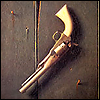 treefrog: an antique pistol (Gun)