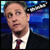 woolly_socks: Jon Stewart *thinks* (Jon Stewart *thinks*)
