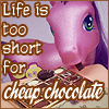 andraste: Life is too short for cheap chocolate. (Kimono's Townhouse)