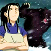 kate_nepveu: Izumi standing with arms crossed with rampaging bear behind her (FMA:B (Izumi), FMA:B (Izumi and bear))