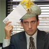 healingmirth: Michael Scott from The Office (US) as Carnac (carnac)