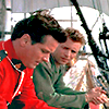 healingmirth: Fraser and Kowalski from Mountie on the Bounty (bounty)