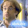 "healingmirth: image of Radek Zelenka with text reading ""adorkable"" (radek)"
