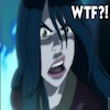 terajk: Text: WTF?! Azula, looking the part. (azula: wtf?!)