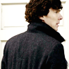 monksandbones: A picture of the back of Sherlock's swoonworthily coat-clad shoulders (0)
