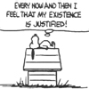 slyyder: (peanuts snoopy justified)