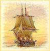 despatch_reader: A tall ship under full sail (Sailing ship)