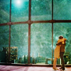 spatz: Amy tackle-hugging Eleven in front of a beautiful vista of stars (DW Eleven Amy stars)
