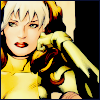 not_a_mamasgirl: Rogue // Marvel // X-Men // comic (lean on hand │ listening to │ bored)