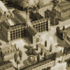mana_khemia: A sepia picture of the front hall of Al-Revis Academy (Default)