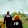 wendelah1: Mulder and Scully walking in a field (The Field Where I Died)