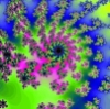 cereus: Sunflower-like fractal (sun)