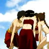 sohotrightnow: Zuko, Mai, Tai Lee, and Azula huddling ([atla] huddle)