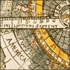 nightdog_barks: Illuminated manuscript map of latitudes (Latitudes)