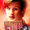 purpleallison: by phausticons (Everything's going to be fine)