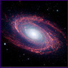 opalmatrix: Short-Wavelength Infrared Views of spiral galaxy Messier 81 (galaxy)
