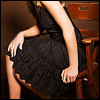 we: (Kerry - Black dress)