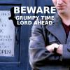 selenay: (grumpy time lord)
