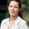 bookblather: Rachel Hurd-Wood in an open white shirt, her hair in a ponytail, looking serious. (in the heart: professional Summer)