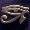 damncompass: Eye of Horus Pin (Regentface)