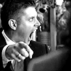 musyc: Dean Winchester from Supernatural, screaming and pointing (Supernatural: Dean AHHHHH!)