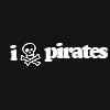musyc: Text only: I (drawing of skull) pirates (Other: I skull pirates)