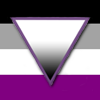 bristrek: The asexual flag with the asexual triangle on top. (Default)