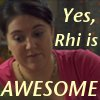 eldabe: Icon of Rhiannon Davies of Torchwood.  (Rhiannon Davies is Awesome)