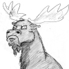 boxmods: (grumpy moose)