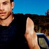 blue_icy_rose: (Chris Pine - black tank top)