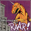 bluefall: (Unicornosaur says RAAR)