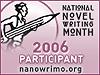 mollyshears: nanowrimo 2006 icon (nanowrimo participant 2006)