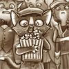 squeemu: Wide-eyed kid eating popcorn ([me] better than the talkies)