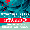 necromommycon: (everyone cries when they're stabbed)