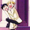 melcreada: (ouran glomp!)