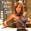 "zing_och: Teyla from Stargate Atlantis - caption ""fights like a girl"" (fights like a girl)"