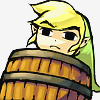 legion_of_zelda: Link in a Barrel (shooting Link in a barrel)