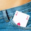 jeshyr: Playing card Ace showing in a jeans pocket (Sexuality - Ace jeans, Sexuality - Ace)