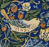 issenllo: strawberry thief print from William Morris (strawberry thief)