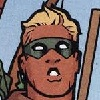 "legacy_arrow: Connor looks at the screen with his mouth open and teeth showing in a ""whoops"" expression (oops)"
