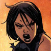gentlejustice: A maskless Cass makes an expression of rage. (angry)