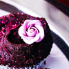 clockwrkheart: Cupcake with Purple Flower Icing (purple flower)